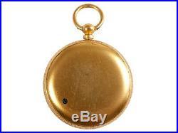 FREE SHIP Antique Pocket Barometer Victorian Brass Pocket Barometer