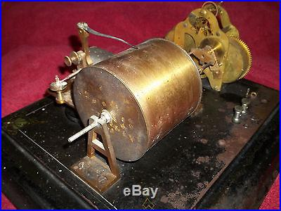 FRIEZ 1880 S ~ BAROMETER ANEMOMETER BAROGRAPH ~ ANTIQUE WEATHER ANEROID