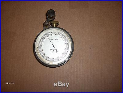 Fantastic Compensated Barometer by JJ Hicks London, England Eng