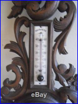 French antiquity barometers thermometer old louis xv