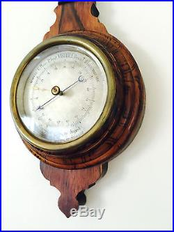 Genuine Breguet Wheel Barometer & Thermometer EXTREME Rarity Superb Condition
