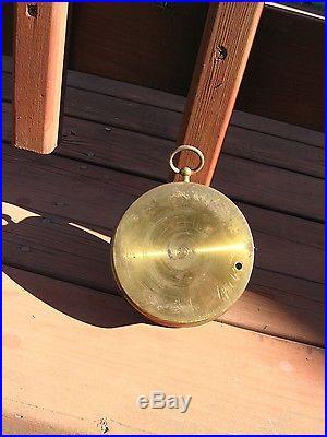 Henry Kahn & Co. Holosteric Barometer