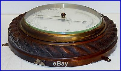 Huge Antique Barometer Thomas Downie Hamburg