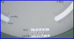 Huge Utsuki Keiki Japan Ships Aneroid Marine Boat Weather Brass Barometer