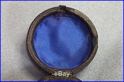 J H Steward, London Cased Pocket Barometer