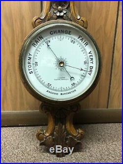 J Lizars Glasgow London Etc, Aneroid Barometer