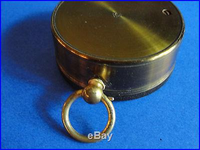 KEUFFEL & ESSER Antique Compensated Pocket Barometer