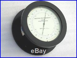 Large National Weather Service Us Dept Of Commerce Noaa Marine Aneroid Barometer