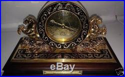 Maritime Historical Society Cutty Sark Reproduction 1800's Solid Brass Barometer