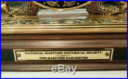 Maritime Historical Society Solid Brass The Maritime Barometer