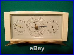 NICE VINTAGE AIRGUIDE DESK TOP WEATHER STATION THERMOMETER BAROMETER HUMIDITY