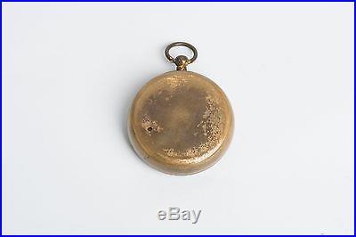 Neat Antique Pocket Barometer Altimeter Short & Mason Tycos London