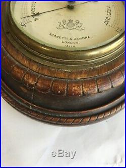 Negretti & Zambra London 16116 barometer c. 1880