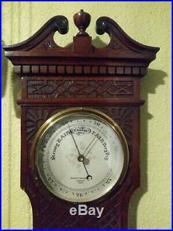 Negretti & Zambra London Wall Barometer