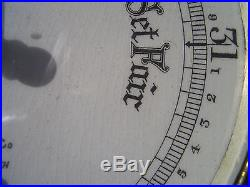 PERRY & CO, BOURNEMOUTH, ENGLAND, ANEROID BAROMETER, VINTAGE