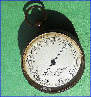 Pocket Barometer-Altimeter by Negretti & Zambra, London