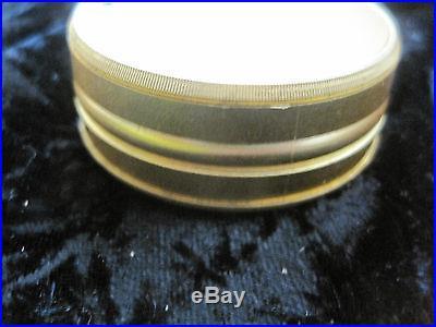 Pocket Barometer Krogit CHR Gold Tone Vintage Antique