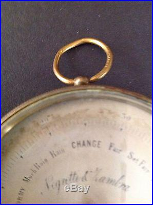 Pocket barometer