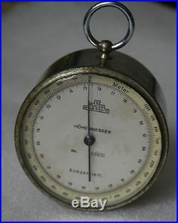 RARE! German barometer-altimeter R. FUESS Berlin-Steglitz