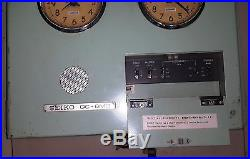 RARE VINTAGE MARINE CLOCK OF SEIKO QC 6M3
