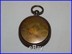 R. WIND VERANDERLICH SCHON W 1800's Compensated Aneroid Barometer. POCKET SIZE
