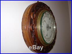 Rare Antique Aneroid Barometer