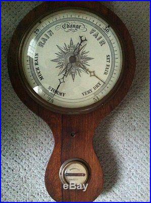 Rare Antique Barometer Over 3 Feet Tall