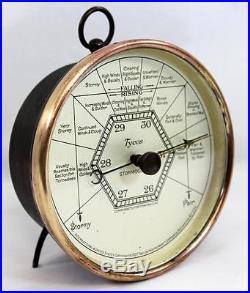 Rare Antique Steampunk Stormoguide Aneroid Barometer