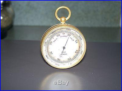 Rare Early Pocket Barometer by Ross London
