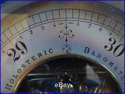 Rare French PH BN Barometer & Thermometer, beautiful