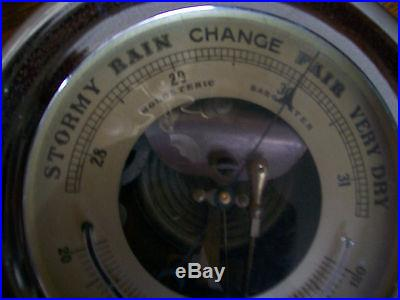 SHIP HOLOSTERIC BAROMETER