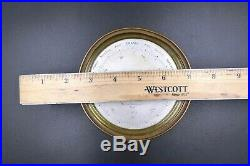 Scarce Antique Martin Baskett Company Paris Aneroid Barometer # 12273
