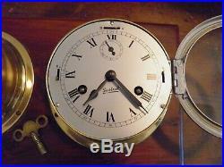 Sestrel London Navy Marine Ships Bell Wall Clock And British Barometer Urgos 4j