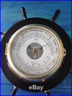 Shatz Compensated Precision Barometer
