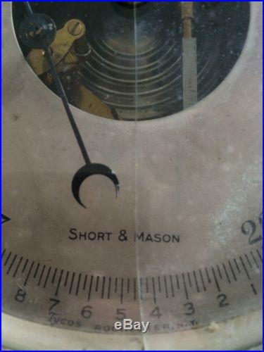 Short & Mason Barometer