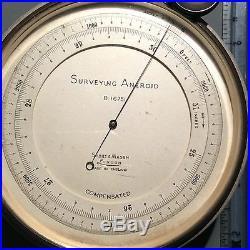 Short & Mason Surveying Aneroid London England