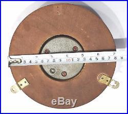 Sundo marine barometer precision aneroid wooden frame ship`s vintage antique