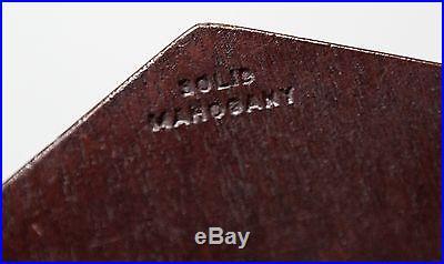 Swift and Anderson Inc. Barometer Solid Mahogany