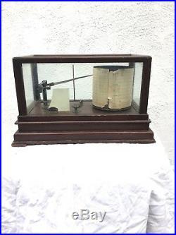 Taylor Instrument Company Cyclo-Stormograph/ Barograph Barometer- Antique 1900s