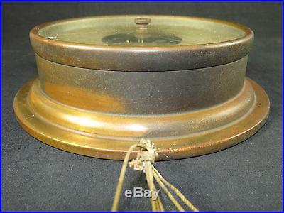 Taylor Kelvin-White Co. Boston-New York Brass Barometer, 8 Nautical Marine Boat