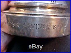 Tiffany Sterling silver desk Barometer Dollar Savings Bank NYC advertising