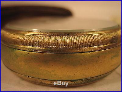Tycos Short & Mason Pocket Altimeter London Original Leather Case No. D 14838