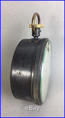 U. S. Navy WWI Surveying Aneroid Barometer Altimeter English Make