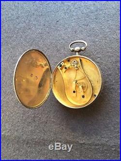Unique Courvoisier Et Comp. Bimetalic Pocket Thermometer Circa 1830 Top