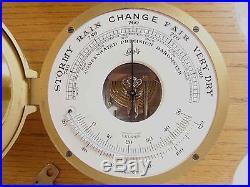 VERY NICE Schatz Royal Mariner & Barometer