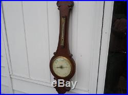 VINTAGE BANJO BAROMETER A REAL ONE WITH A MERCURIAL MEASURING SYSTEM