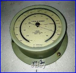 Vintage Marine Utsuki Keiki Aneroid Barometer Made In Japan