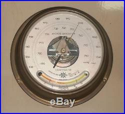 VINTAGE SHIP MARINE OSAKA BAROMETER 100% ORIGINAL NICE CONDITION
