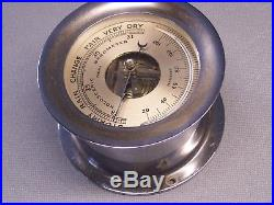 Very Nice CHELSEA HOLOSTERIC BAROMETER/THERMOMETER 5.5 inch Round