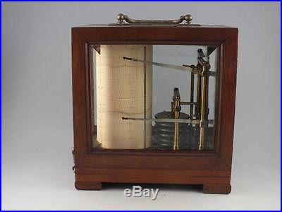 Very Rare Thermo-Barograph Combination Thermometer Barograph by Richard Freres